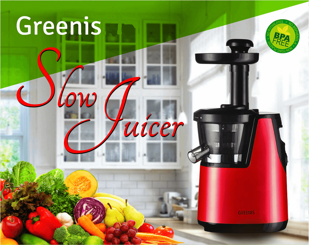 Greenis slowjuicer